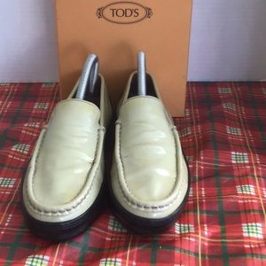 Tod s walking loafers